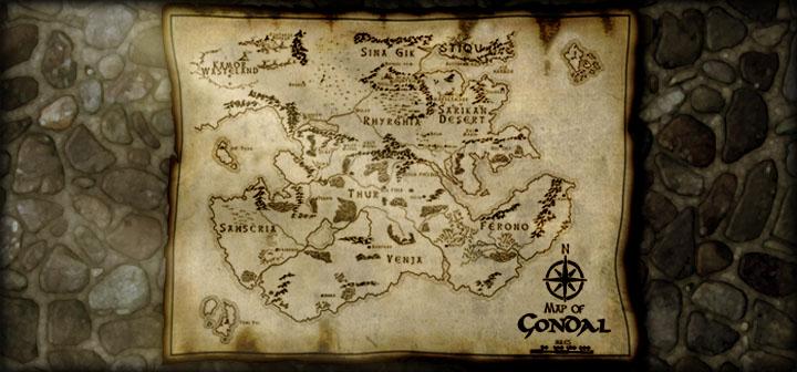 Fantasy Karte.Karte Von Gondal Gondal Das Online Fantasy Browsergame